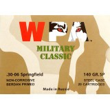 WPA Military Classic 30-06 140 Grain SP - 20 Rounds