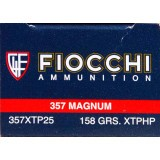 Fiocchi Extrema 357 Mag 158 Grain XTP JHP - 25 Rounds