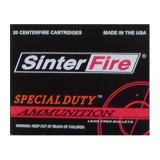 38 Special - 110 Grain Frangible HP - SinterFire Special Duty - 20 Rounds