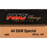 PMC 44 Special 180 Grain JHP - 25 Rounds