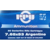Prvi Partizan 7.65x53mm Argentine 174 Grain FMJ-BT - 20 Rounds