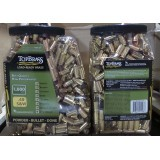 Top Brass Casings - 40 S&W - Reconditioned Unprimed Brass - 1000