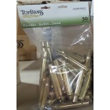 Top Brass Casings 50 BMG Reconditioned Unprimed Brass - 50
