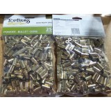Top Brass Casings 9mm Luger Reconditioned Unprimed Brass - 250