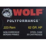 Wolf Military Classic 223 Remington 62 Grain HP – 20 Rounds