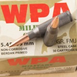 Wolf WPA Military Classic 5.45x39mm 60 Grain FMJ - 30 Rounds