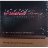 PMC 10mm Auto 170 Grain JHP - 25 Rounds