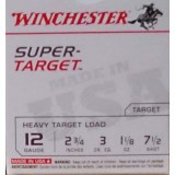 "Winchester Super Target 12 Gauge 2-3/4"" 1-1/8 oz. #7.5 Lead Shot – 250 Rounds"