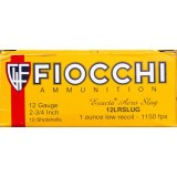 "Fiocchi Exacta Aero 2-3/4"" 1 oz. Low Recoil Rifled Slug 12 Gauge - 250 Rounds"