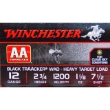 "Winchester TrAAcker (Black) 12 Gauge 2-3/4"" 1-1/8 oz. #7-1/2 – 25 Rounds"