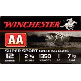 "Winchester AA Sporting Clays 12 Gauge 2-3/4"" 1 oz. #7-1/2 – 25 Rounds"