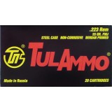 Tula 223 Rem 55 Grain FMJ - 20 Rounds