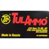 Tula 223 Remington 75 Grain HP – 1000 Rounds