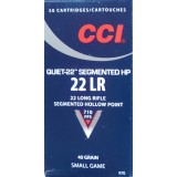 CCI Subsonic 22 LR 40 Grain CPSHP - 50 Rounds