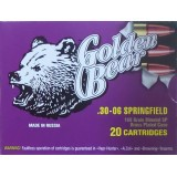 Golden Bear 30-06 168 Grain SP - 20 Rounds