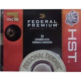 Federal Personal Defense 380 Auto 99 Grain HST JHP – 20 Rounds
