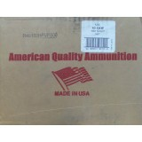 American Quality Ammunition Remanufactured 40 S&W 180 Grain JHP - 500 Rounds