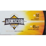 Armscor USA 45 ACP 230 Grain FMJ - 1000 Rounds