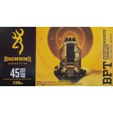 Browning BPT 45 ACP 230 Grain FMJ - 50 Rounds