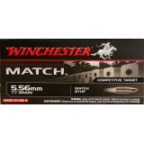 Winchester Match 5.56x45mm 77 Grain HPBT – 20 Rounds