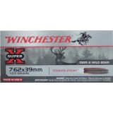 Winchester Super-X 7.62x39mm 123 Grain SP - 20 Rounds
