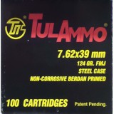 Tula 7.62x39mm 124 Grain FMJ - 100 Rounds