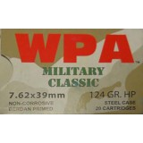 Wolf Military Classic 7.62X39 124 Grain HP - 1000 Rounds