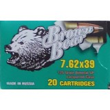 Brown Bear 7.62x39mm 125 Grain Soft Point - 20 Rounds