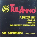 Tula 7.62x39mm 154 Grain Soft Point - 1000 Rounds