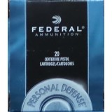 Federal Personal Defense 357 Mag 125 Grain JHP - 20 Rounds