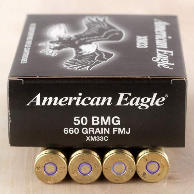 Image of Federal 50 BMG 660 Grain FMJ - 10 Rounds