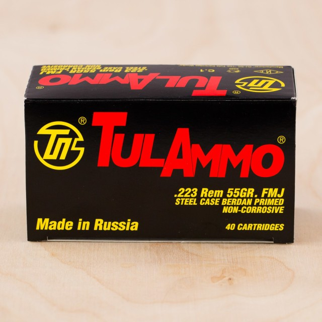 Image of Tula 223 Rem 55 Grain FMJ – 1000 Rounds