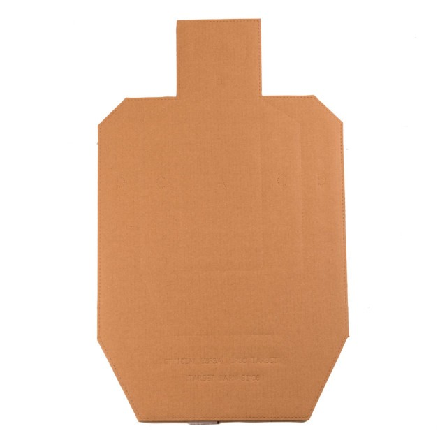 Image of Target Barn IPSC Shooting - Officially Licensed Cardboard Silhouette - 100 Pack