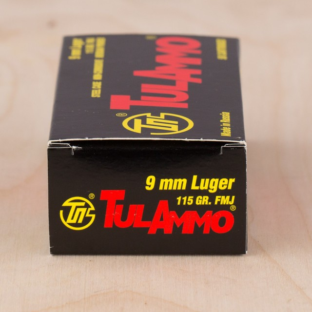 Image of Tula 9mm 115 Grain FMJ – 1000 Rounds