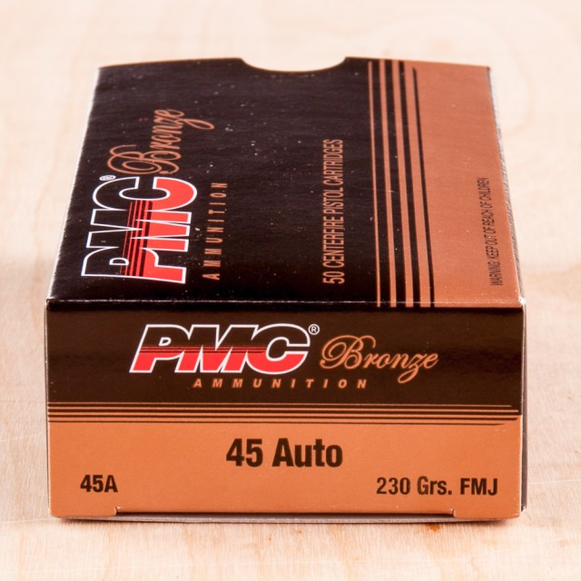 Image of PMC Bronze 45 ACP 230 Grain FMJ – 1000 Rounds