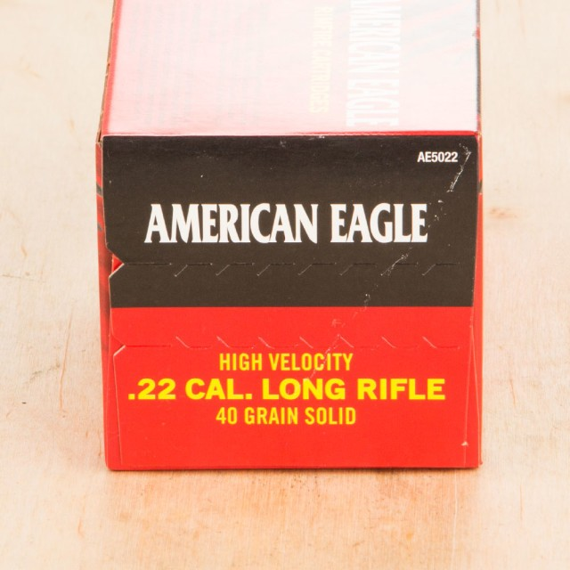 Image of Federal American Eagle 22 LR 40 Grain LRN - 5000 Rounds