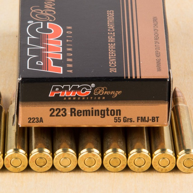 Image of PMC 223 Rem 55 Grain FMJ-BT – 1000 Rounds