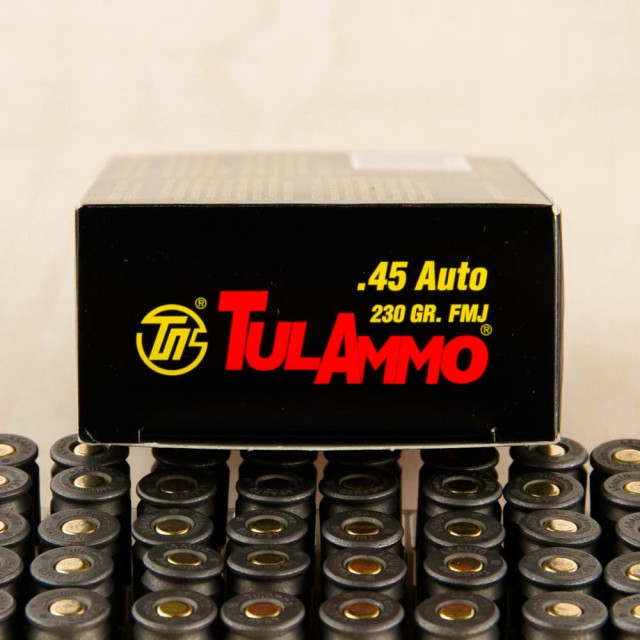 Image of Tula Cartridge Works 45 ACP 230 FMJ – 500 Rounds