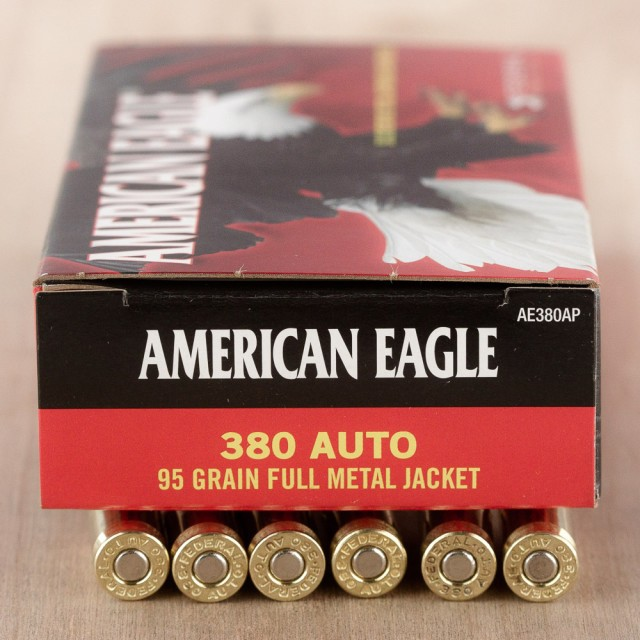 Image of 380 Auto Federal American Eagle 95 Grain FMJ – 1000 Rounds