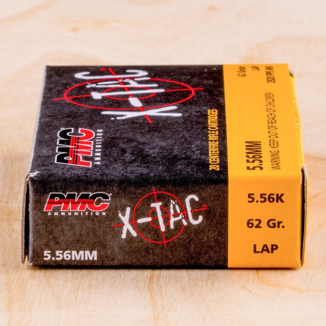 Image of PMC X-TAC M855 5.56x45mm 62 Grain FMJ – 1000 Rounds