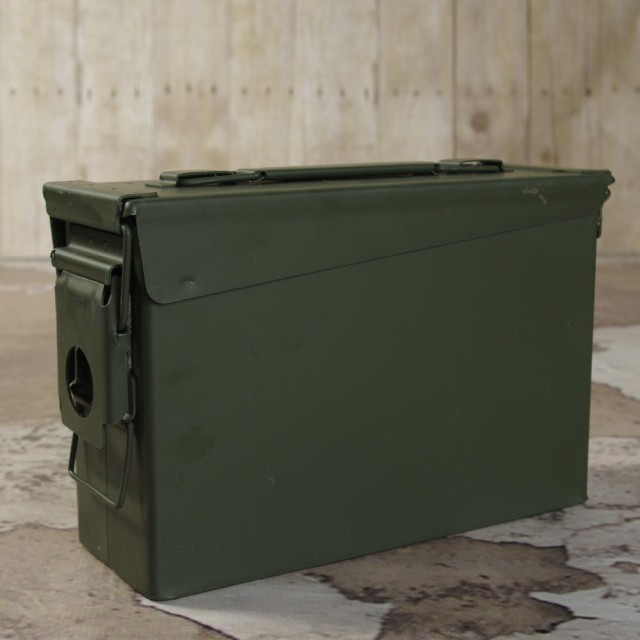Image of Mil-Spec Ammo Can - 30 Caliber M19 - Green - 1