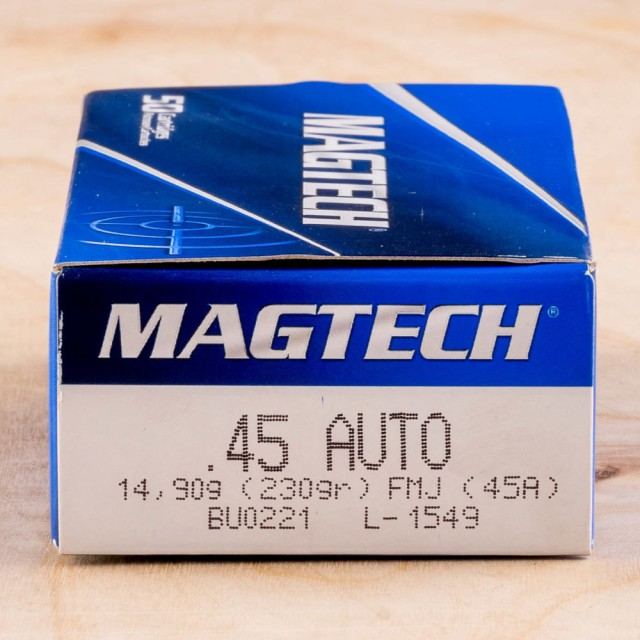 Image of Magtech 45 ACP 230 Grain FMC - 1000 Rounds