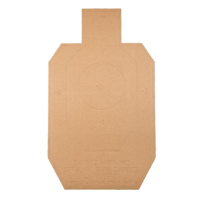 Image of IDPA Targets - Officially Licensed Target Barn Cardboard Silhouette - 100 Pack