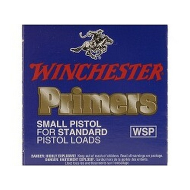 Image of Winchester Small Pistol Primers - WSP - 5000