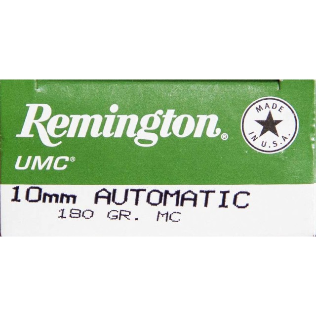 Image of Remington UMC 10mm Auto 180 Grain MC - 500 Rounds